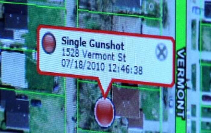 В Нью-Йорке появилась система, информирующая полицию о случаях использования огнестрельного оружия (4 фото)