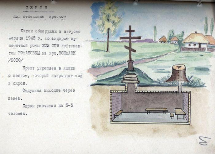 Где прятались бандеровцы от советских властей (6 фото)
