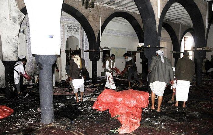 Страшный теракт в Йемене (23 фото)