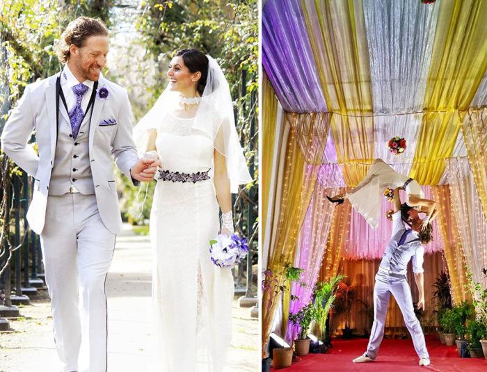 Кругосветная свадьба продолжительностью в 83 дня (17 фото)