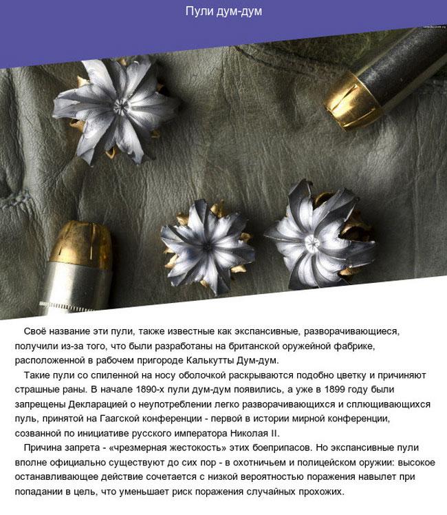 Запрещенные виды оружия (7 фото)