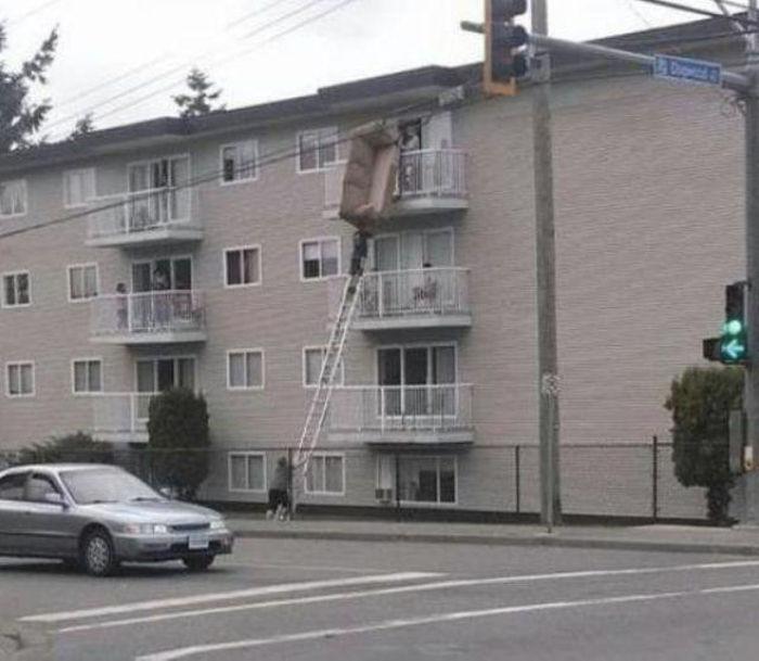 Техника безопасности? Не, не слышал (42 фото)