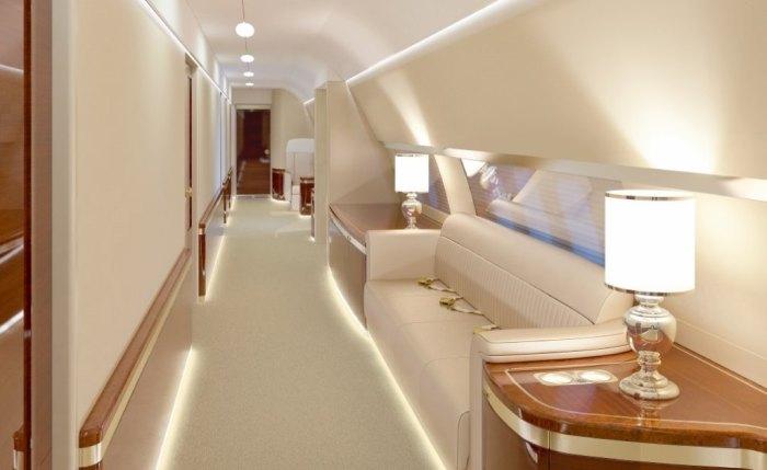 Новый авиалайнер главы государства (10 фото)
