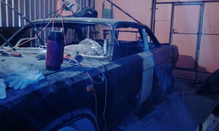 Уникальный тюнинг: масл кар на базе «Волги» (35 фото)