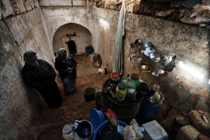 Убежища сирийских боевиков (29 фото)