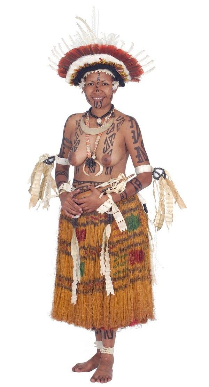 Участницы конкурса красоты в Папуа - Новой Гвинее. НЮ (28 фото)