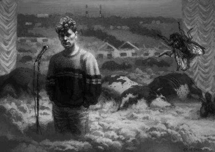 90-е глазами воронежского художника Саши Селезнева (25 фото)