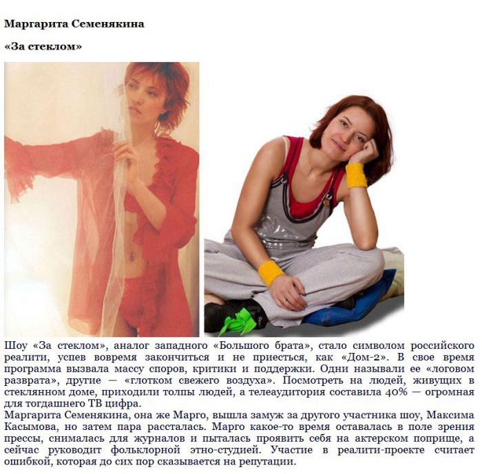 Судьбы участников первых отечественных реалити-шоу (8 фото)