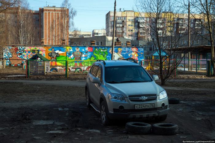 Важная роль шин в жизни ярославцев (30 фото)