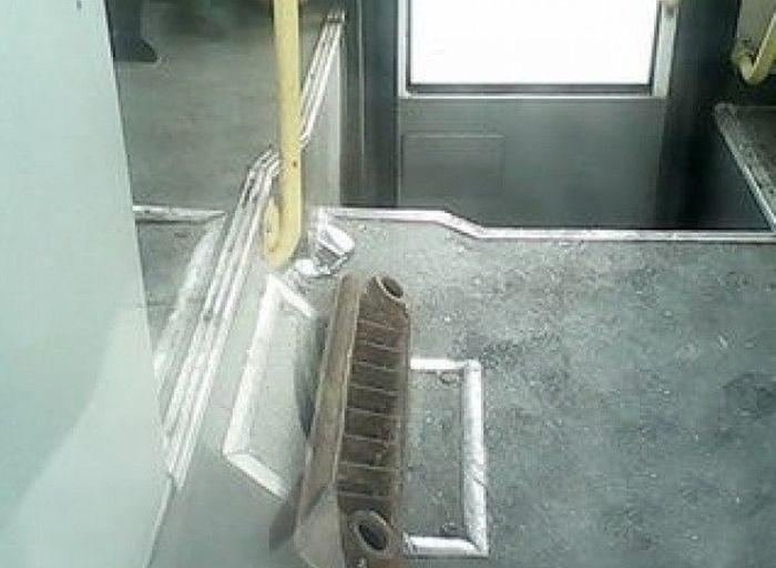 Внезапный «подарок» от металловоза (5 фото)