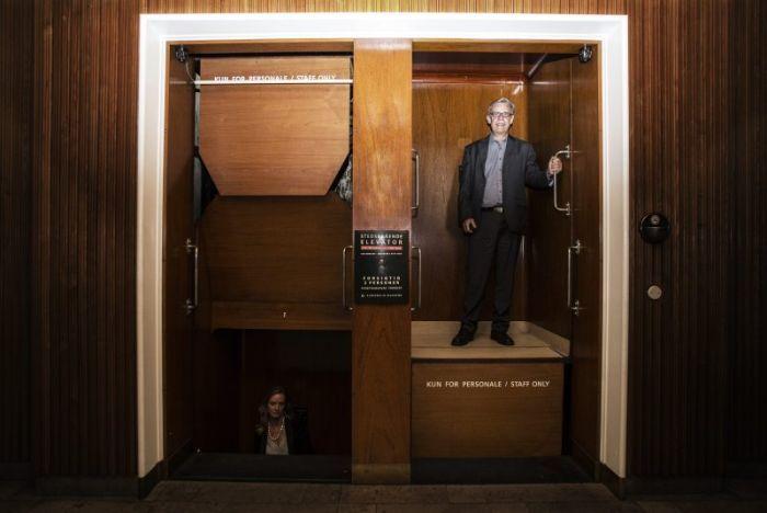 Патерностер – опасный лифт (3 фото + видео)