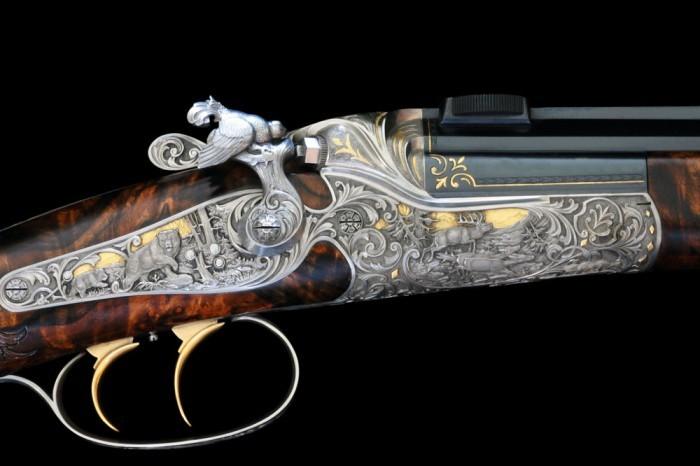 Уникальные ружья от компании Фанзой (3 фото)