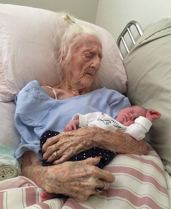 Разные поколения на фото (11 фото)