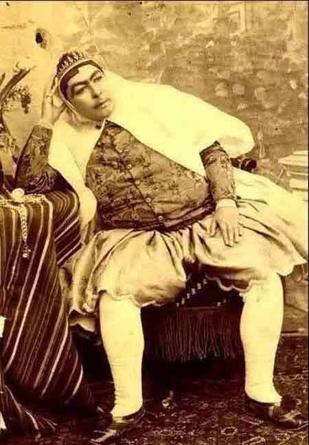 Как выглядели наложницы иранского шаха Насера Каджара (9 фото)