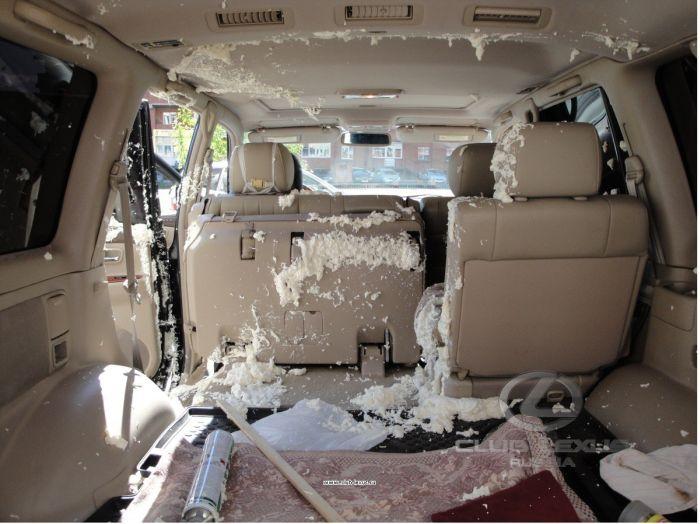«Антисмекалка» владельца внедорожника Lexus LX 470 (2 фото)