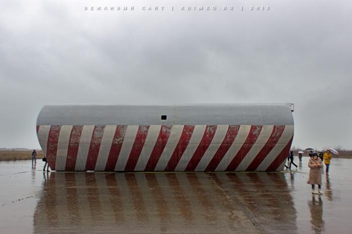 Крымская «Нитка» - уникальный тренажер палубной авиации (12 фото)