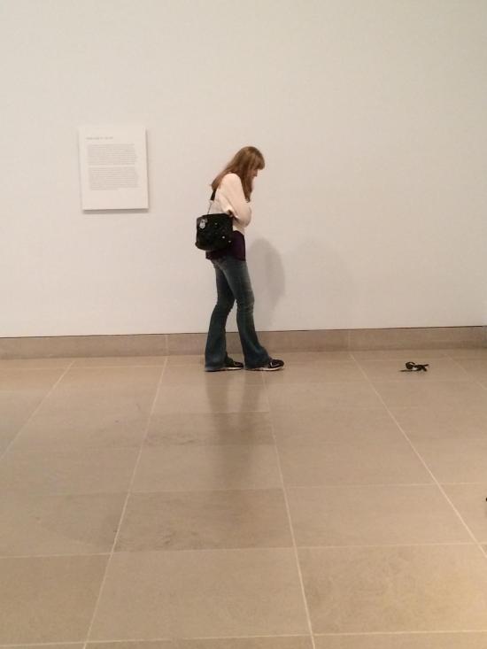 Эксперимент на выставке абстрактного искусства (5 фото)