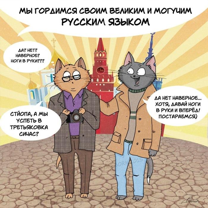Русская душа в забавных картинках (10 картинок)
