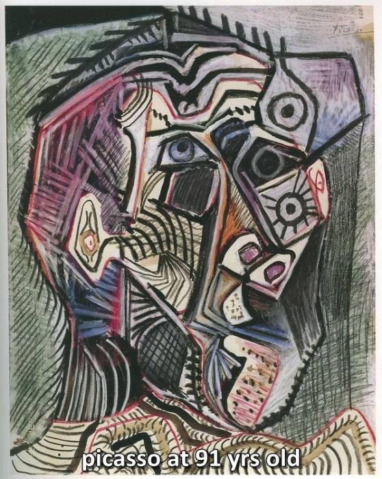 Эволюция творчества Пабло Пикассо (8 картин)