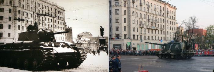 Москва 1941-го года (92 фото)