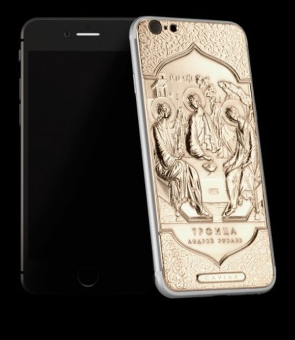 Первый в мире смартфон iPhone 6 для православных пользователей (7 фото)