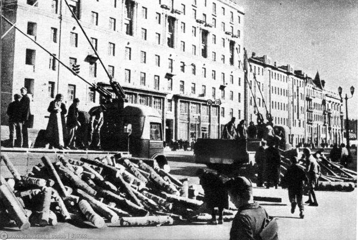 Москва 1942-го года (22 фото)