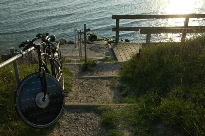 В Дании создали велосипед, который приводится в движение энергией солнца (6 фото + видео)