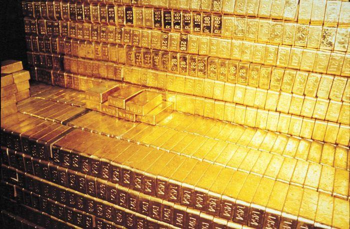 Американское золотохранилище Форт Нокс (4 фото)