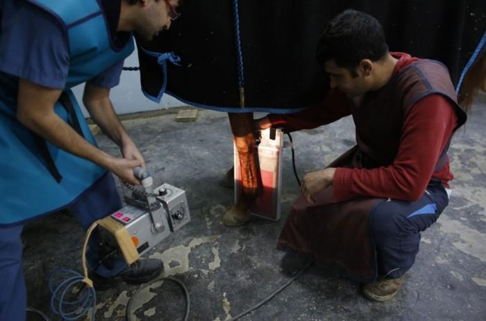Лечение скакунов в клинике стамбульского ипподрома Велиефенди (25 фото)