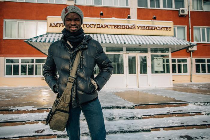 Студент из Нигерии о жизни и учебе на Дальнем Востоке (5 фото)
