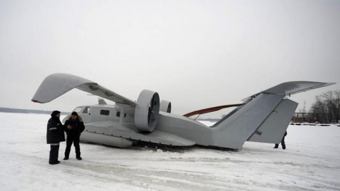В Якутии появится пассажирский экраноплан (6 фото)