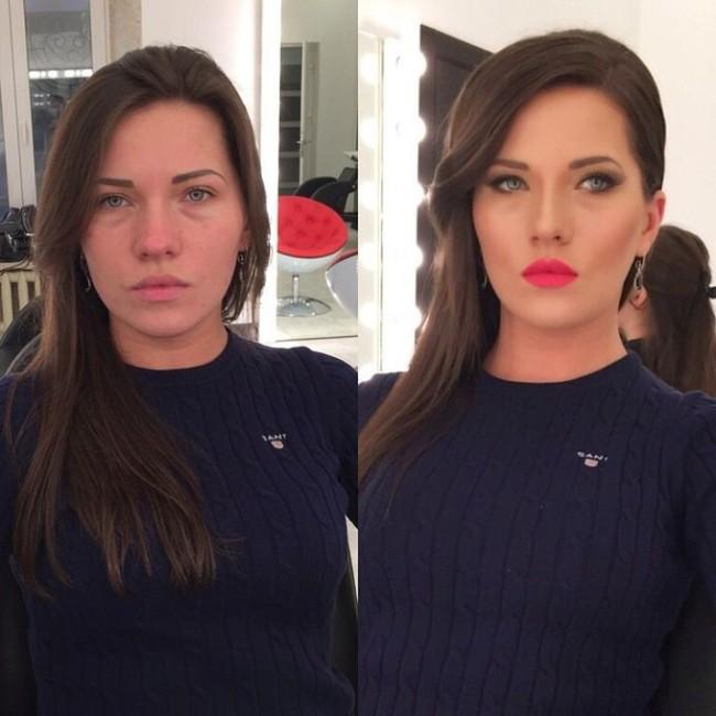 Чудеса макияжа (26 фото)