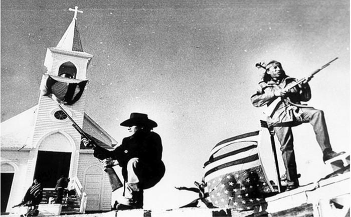 Малоизвестное индейское восстание в штате Южная Дакота. 1973 год (4 фото)