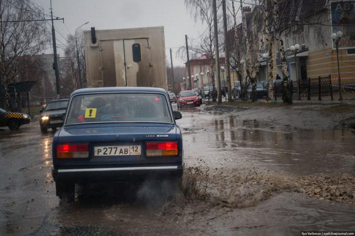Дорожная ситуация в Йошкар-Оле (12 фото + 2 видео)