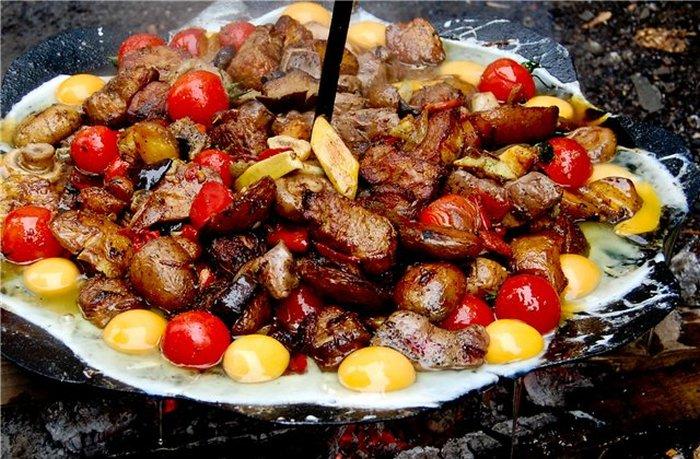 Саж – походная сковорода-тарелка (19 фото)