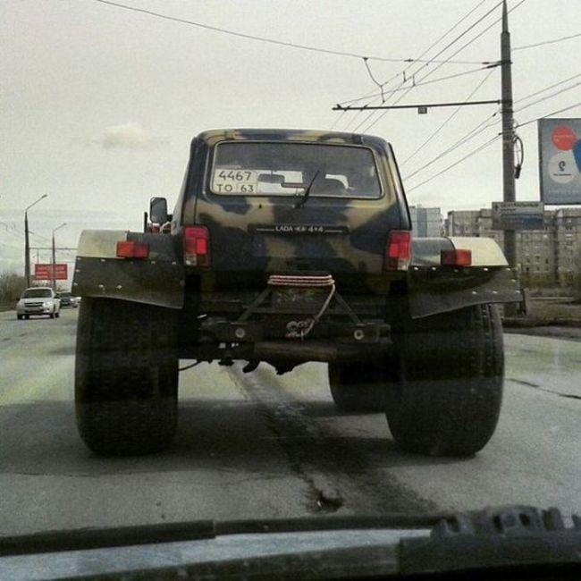 Фото, которые возможно было сделать только в России. Часть 4 (44 фото)