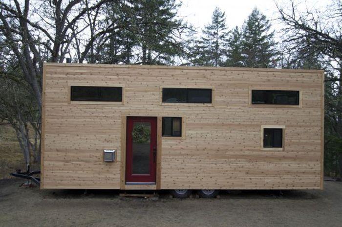 Дом из вагончика видео