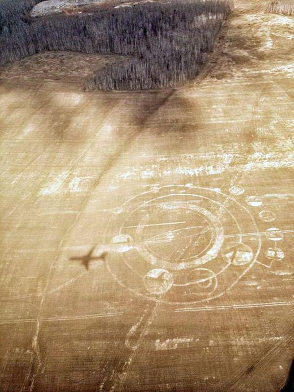 Под Екатеринбургом появились «круги инопланетян» с надписью «Путин крут» (2 фото)
