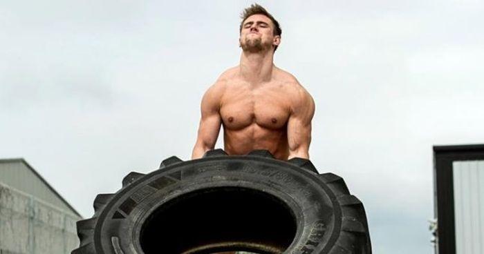 Неизлечимо больной американец Бен Маджа построил идеальное тело и стал фитнес-моделью (6 фото + видео)