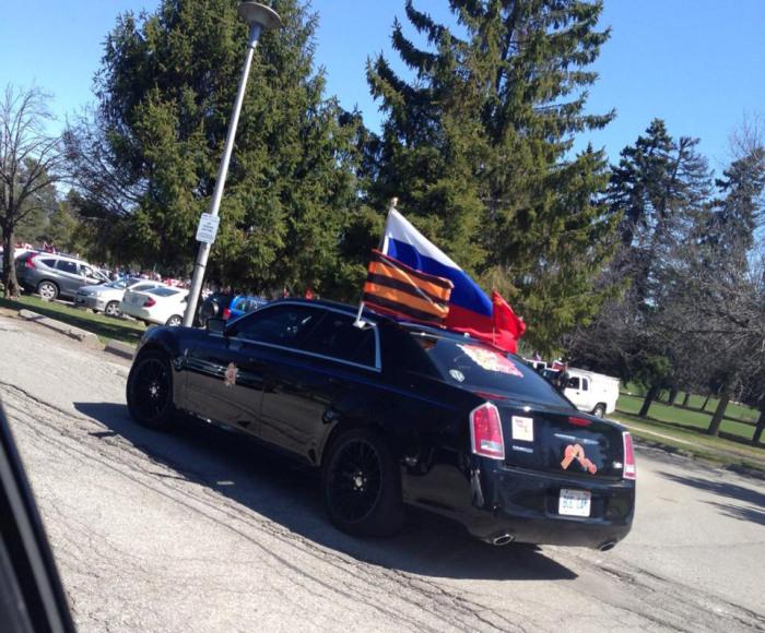 В Канаде устроили автопробег в честь 70-летия Победы (20 фото + видео)
