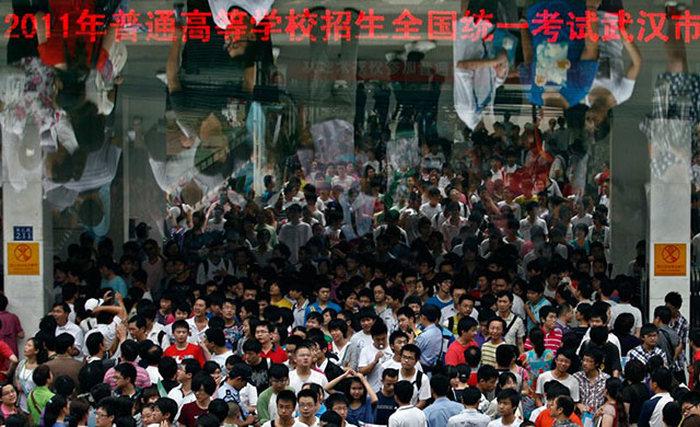 Как проходит важнейший для юных китайцев экзамен «Гаокао» (23 фото)