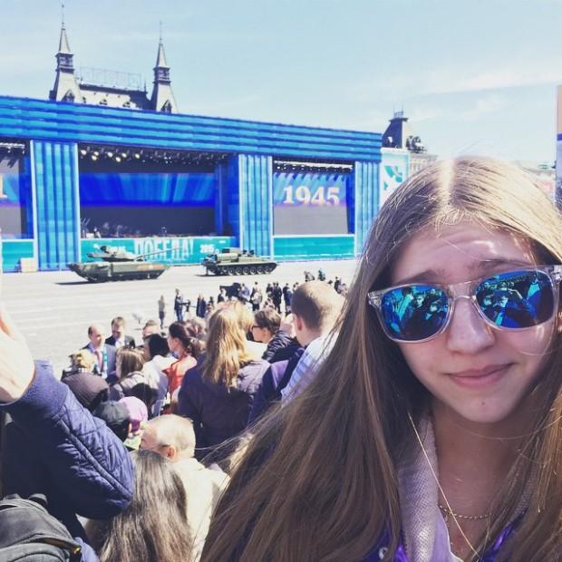 На Красной площади во время репетиции заглох танк Т-14 «Армата» (13 фото + видео)