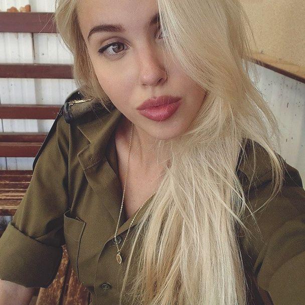 Мария Домарк – рядовой израильской армии (35 фото)