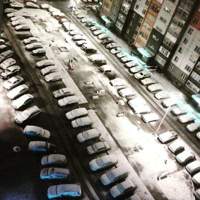 На 9 мая в Челябинской области выпал снег (20 фото)