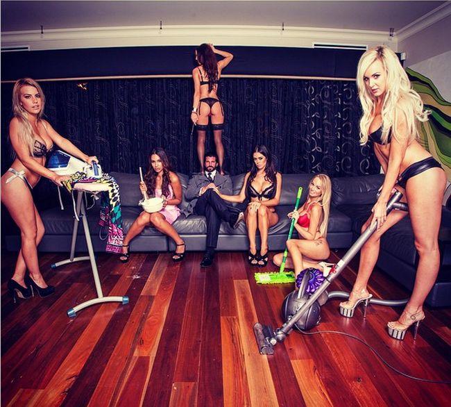 Траверс Бейнон «Кэндимэн» – австралийский Хью Хефнер (24 фото)