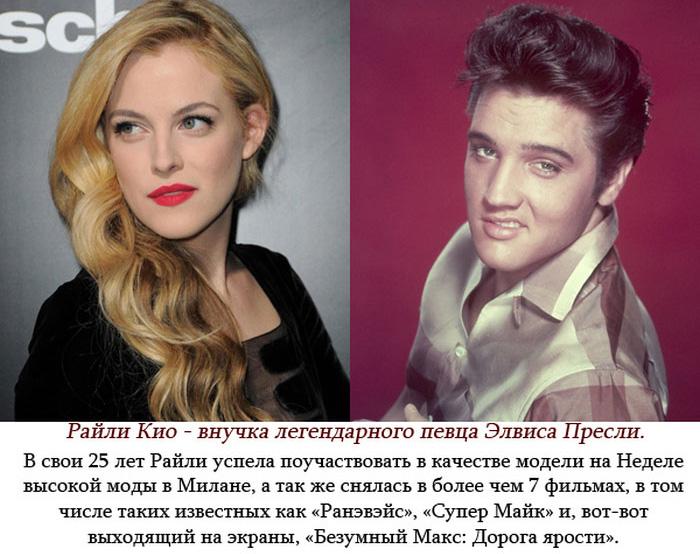 Каких успехов добились потомки некоторых знаменитостей (6 фото)