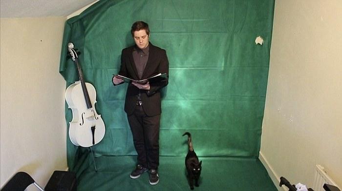 Бен Морфитт – человек-оркестр из Великобритании (3 фото + видео)