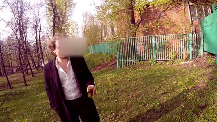 Григорий Мамурин, внук миллиардера Игоря Неклюдова, снял скандальное видео в Парке Горького (6 фото +видео)