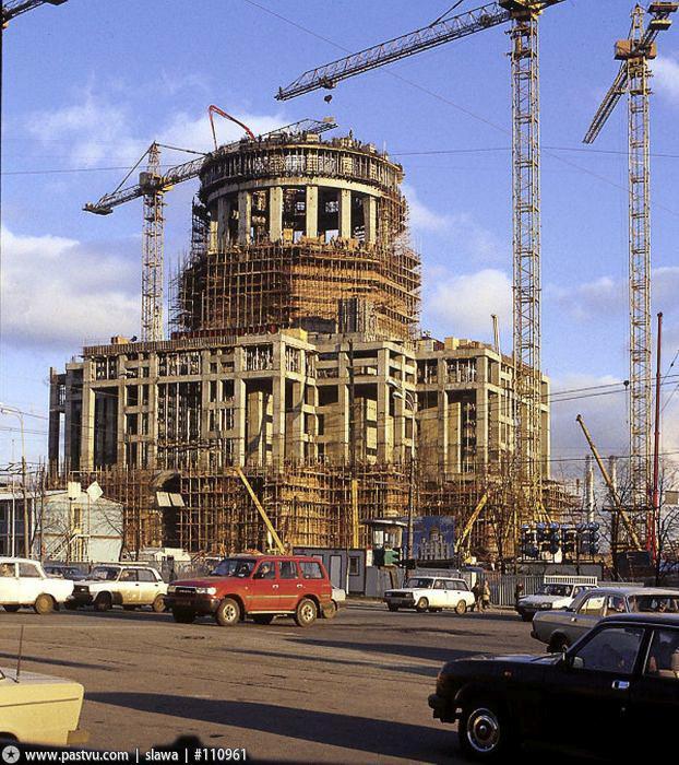 Москва на фото 1995-го года (58 фото)