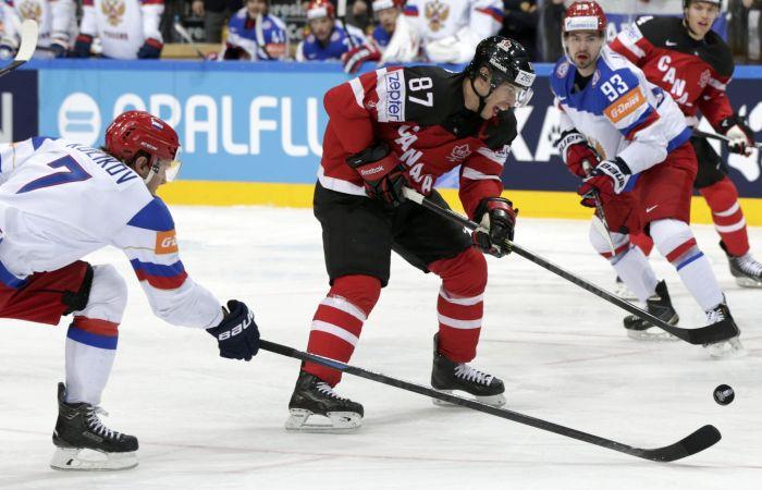 В финале ЧМ-2015 по хоккею Россия уступила Канаде со счетом 1:6 (16 фото + 8 видео)